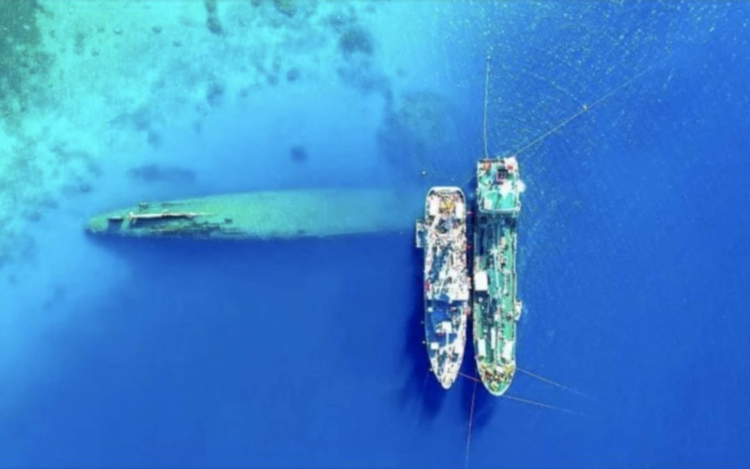 Progress Made On Partnership Addressing WWII Shipwrecks In The Pacific