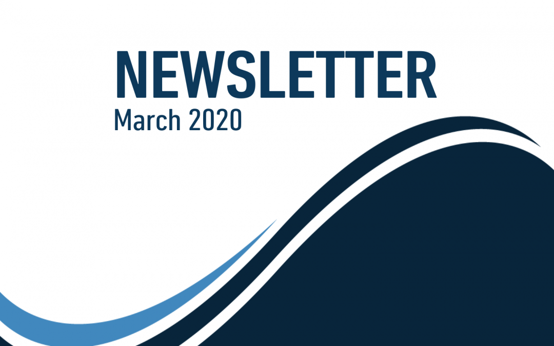 Newsletter – March 2020